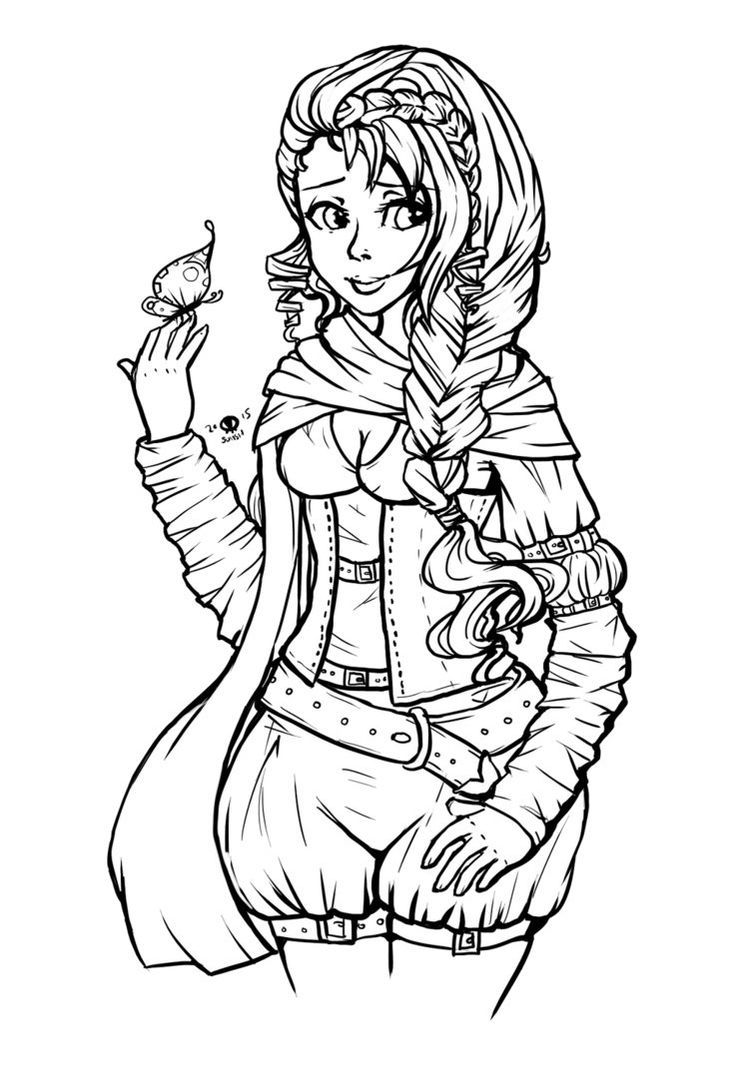 Coloring pages portraits - Ysindra By Suiish On Deviantart Coloring Pages Portraits For Grown Ups Pinterest Coloring Books