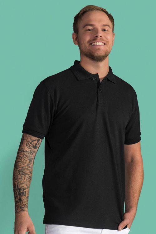 Tricou Polo de bărbați Poly Cotton SG  din 65% poliester și 35% bumbac ringspun pique