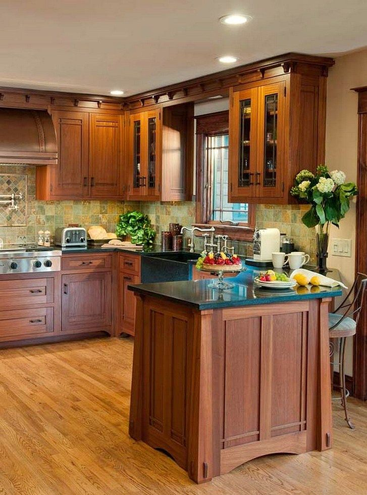 101 awesome craftsman kitchen design ideas 69 for Craftsman style window boxes