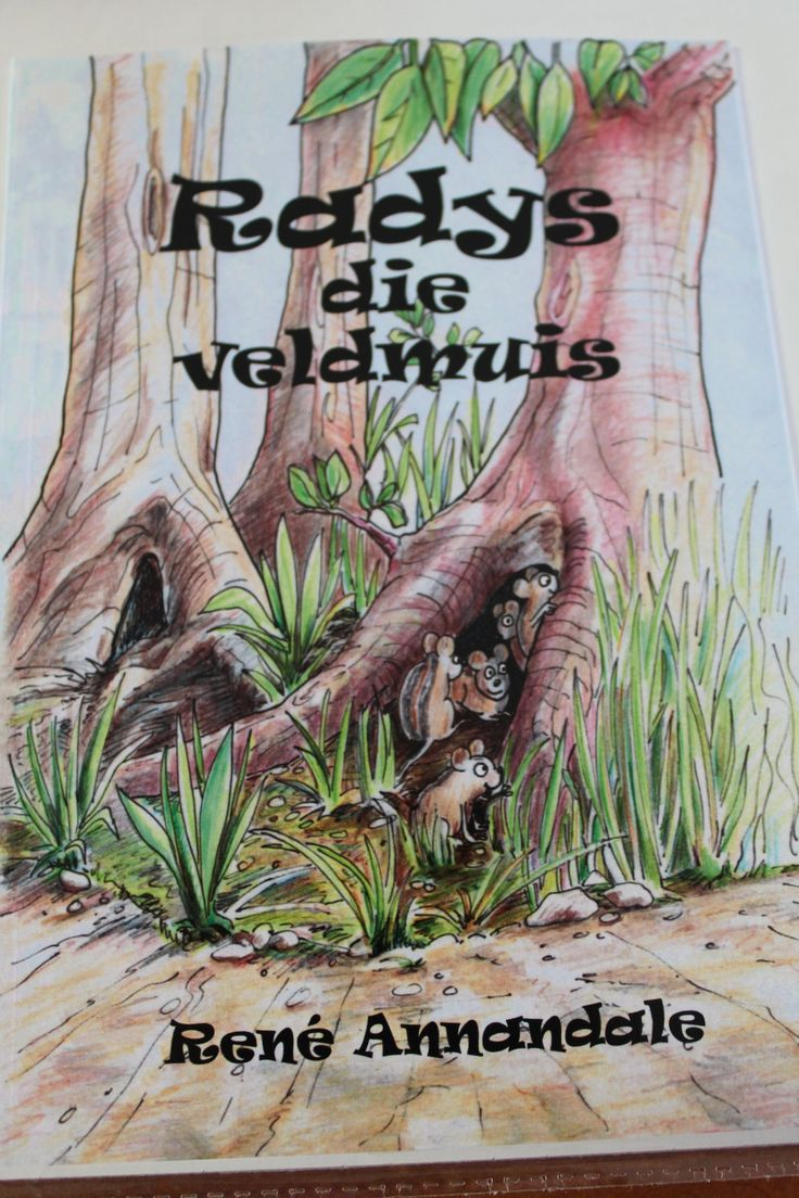 Radys die veldmuis. Suitable for 4-8 year-olds. An adventure story. Beautiful illustrations.