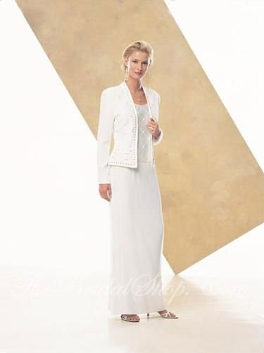 [Super Deal] white long sleeve ladies suit design