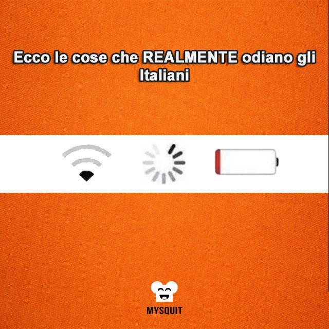 #Mysquititalia #divertimento #intrattenimento Ecco cosa realmente odiano gli italiani.