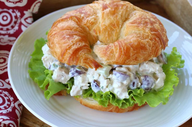 This classic chicken salad is simply the best! The perfect blend of flavors and a wonderfully creamy texture, you'll love it!