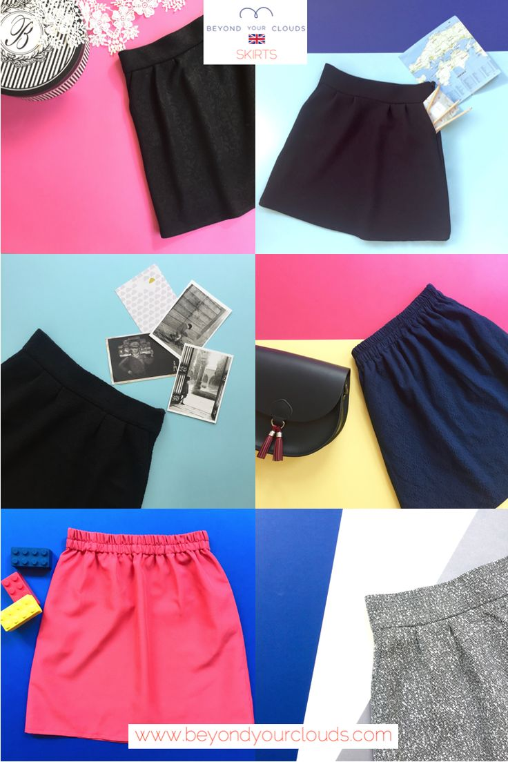 Mini skirts are a girl's best friend! Blue, navy, pin, grey...every lady has their own colour. With or without tights, during fall, winter, spring or summer, just get those legs out! :)  www.beyondyourclouds.com
