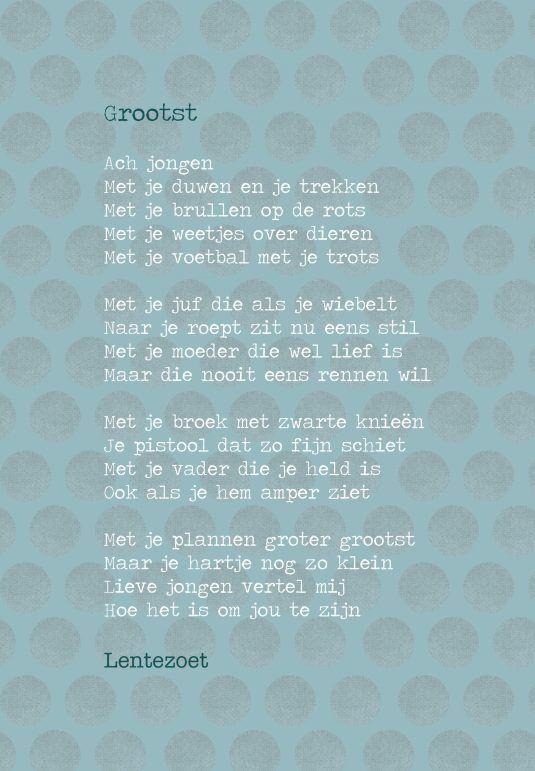 Kaart Grootst - Lentezoet.nl