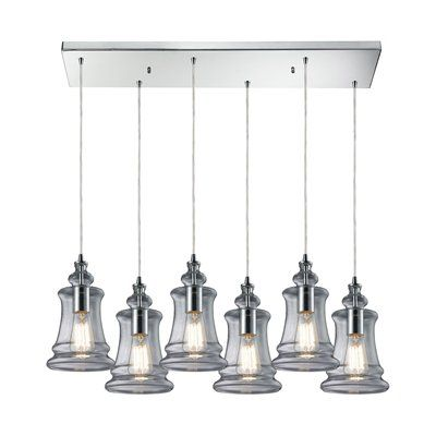 westmore lighting 6 light menlow park multilight pendant
