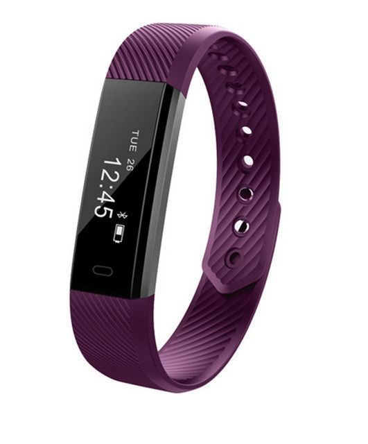 Smart Bracelet Fitness Tracker compatible with iphone and Android phone
