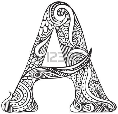 Zentangle Drawings Art Zentangles Coloring Books Sheets Adult Pages Colouring Pencil Doodle Print