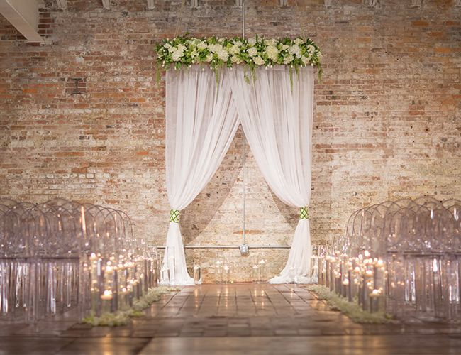 Elegant Drapery At Indoor Ceremony: 1000+ Ideas About Indoor Wedding Decorations On Pinterest