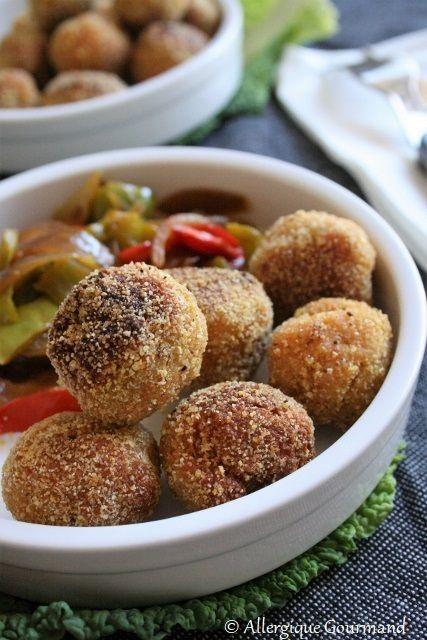 Boulettes lentilles corail-quinoa, bio {sans gluten, sans oeufs, sans lait}