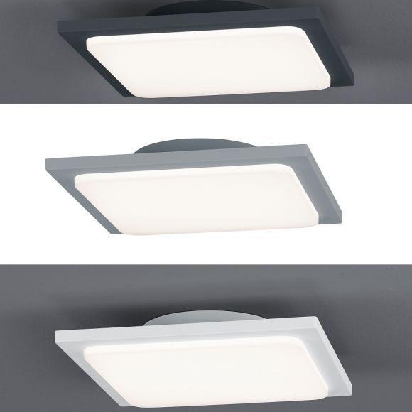 Moderne LED-Deckenleuchte Trave für Außen in 3 Farben