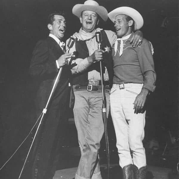 Dean martin & john wayne & guy madison