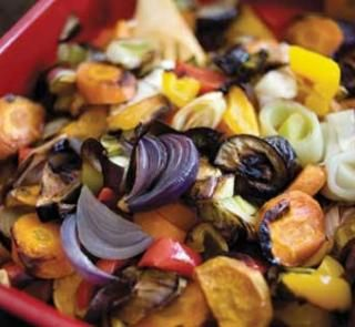 1 recipe = 4 dinners: Roasted vegetables | Healthy Food Guide
