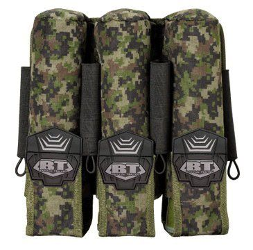 BT 3+4 Pod Pouch Paintball Harness - Woodland Digi by Empire. $15.04. BT Molle 3+4 Pod Pouch - Digital Woodland. Save 48% Off!