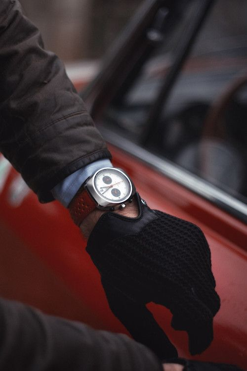 Gloves and watches