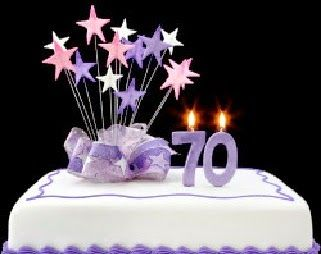 70th birthday decorations birthday party ideas pinterest for Decoration 70th birthday