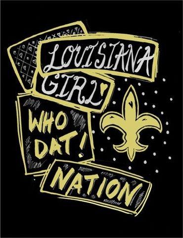Louisiana Girl Who Dat Nation