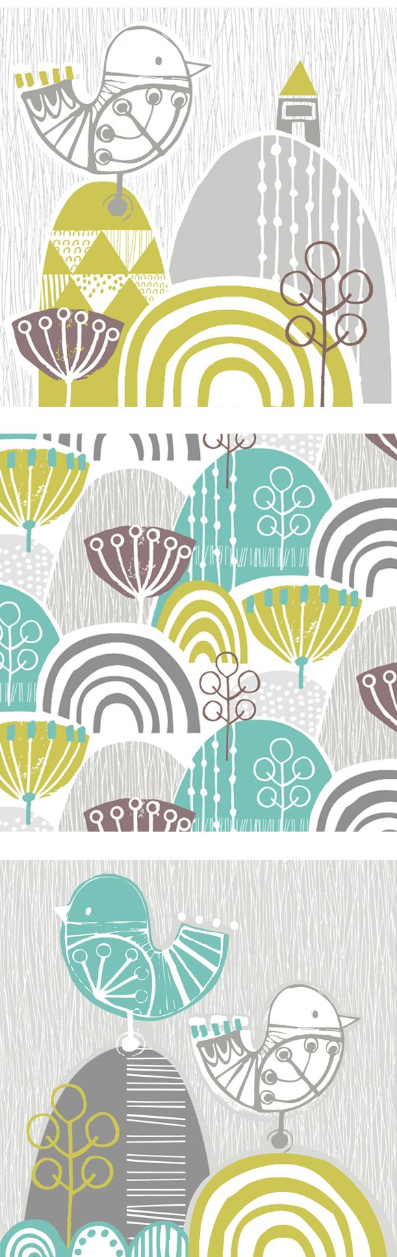 wendy kendall designs – freelance surface pattern designer » bird graphic