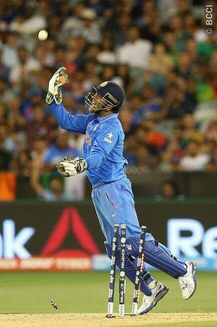 MS DHONI,Captain Indian Cricket team.2day after demolishing South Africa.Last year He got the ICC WORLD CUO for India