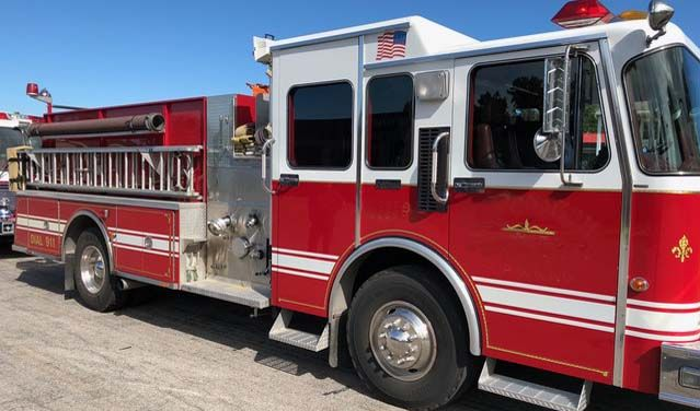 Used Fire Trucks For Sale >> Spartan Rd Murray Fire Truck For Sale 1250 Gpm Hale Pump 750