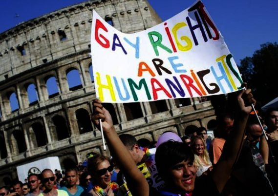 The Council of Europe approves Italian civil unions for gay couples: http://ift.tt/2sXlX5T