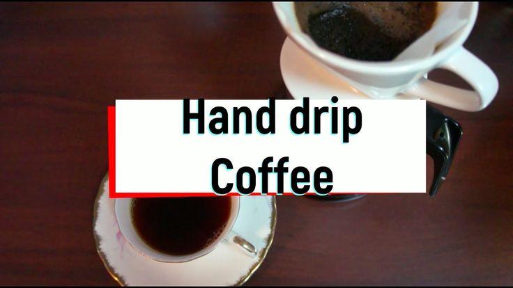 집에서 맛있는 핸드 드립 커피 쉽게 내리기 Hand drip coffee