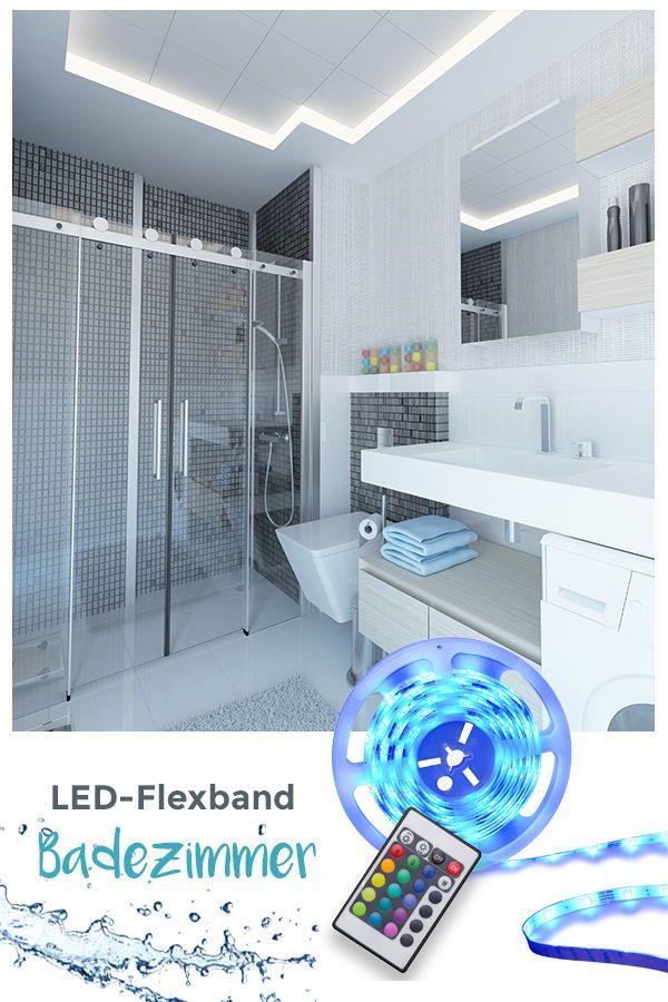 Mehrfarbige Led Lichtleiste Mit Farbwechsel Und Fernbedienung Einfaches Anbringen Mit 3m Klebestreifen Ob Wohnwand Bett Sch Led Lichtleiste Led Stripes Led