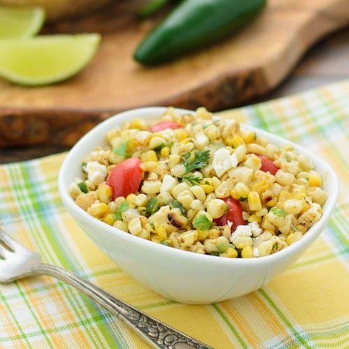 Spicy Grilled Corn Salad | Magnolia Days