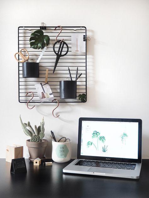 So Einfach, So Gut   Moderner DIY Schreibtisch Organizer