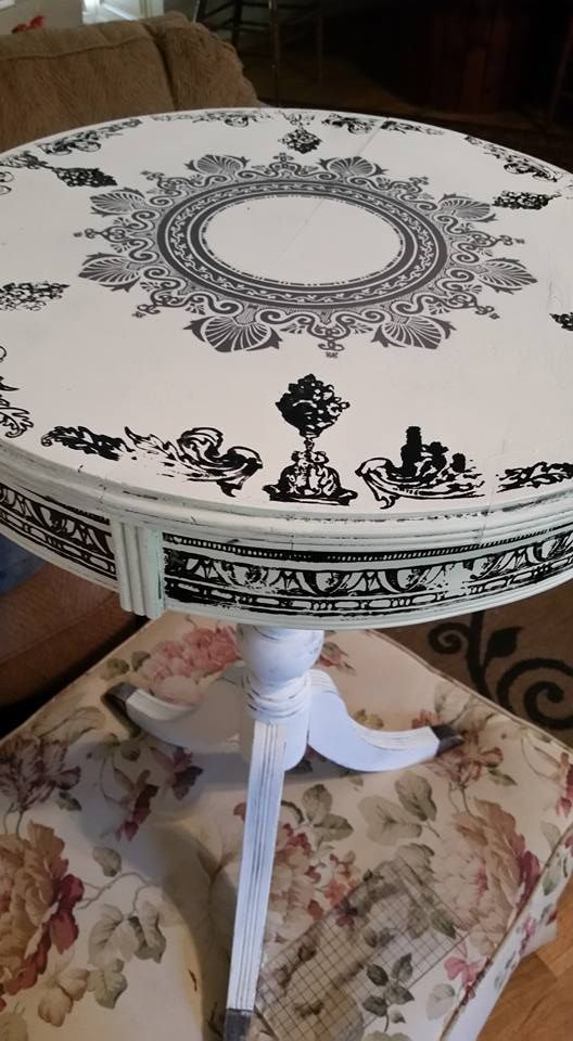 Painted furniture ideas for end tables