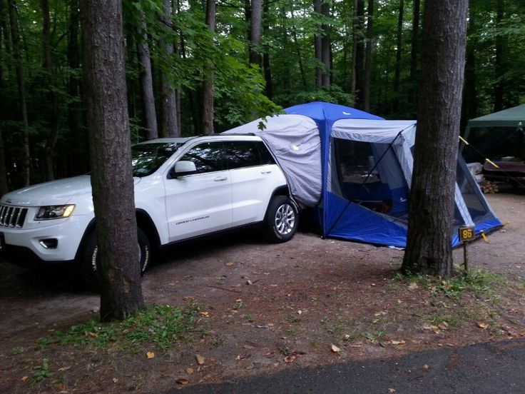 Jeep Grand Cherokee Laredo >> Jeep Tent by Napier Sportz Tents! #labordaycamping | Others | Jeep tent, Jeep patriot ...