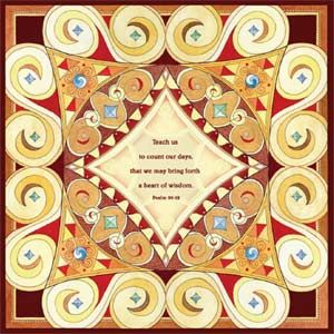 Megvilágított Zsoltárok 90:12