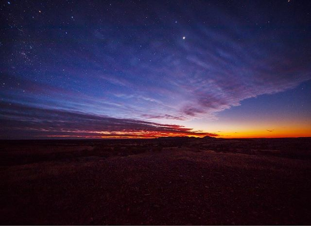 """#isjon_isgood I wise man once said """"Don't focus on problems  or you will miss all the heavenly glory"""" #nature #beauty #sunrise #australia #northernterritory #heaven #stars #beauty #clouds #pantone #colors_of_day #adventure #photographerlife"""