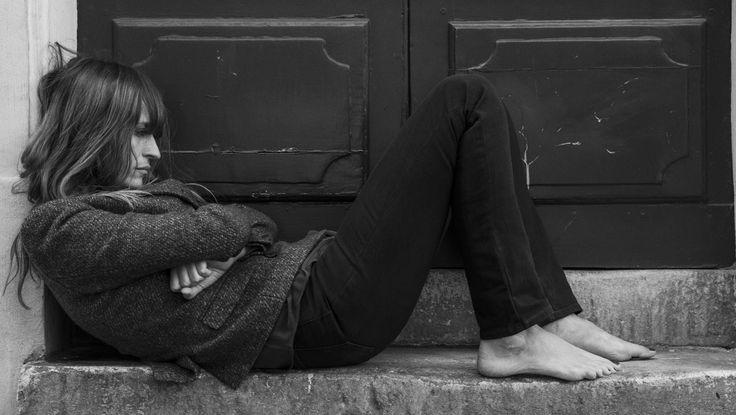 blkdnm: A PORTRAIT OF CAROLINE DE MAIGRET, PHOTOGRAPHED BY JOHAN IN PARIS. BLAZER 7 & JEANS 22, A MID-RISE, SLIM-FIT DENIM.: