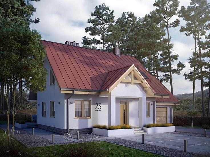 Pliszka (130,83 m2) to tradycyjny projekt z użytkowym poddaszem. Pełna prezentacja projektu dostępna jest na stronie: https://www.domywstylu.pl/projekt-domu-pliszka.php. #domywstylu #mtmstyl #projekty #projektygotowe #dom #domy #projekt #budowadomu #budujemydom #design #newdesign #home #houses #architecture #architektura
