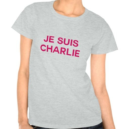 Je Suis Charlie! - I am Charlie Tee Shirt Sold to Donna Mt Sinai, NY