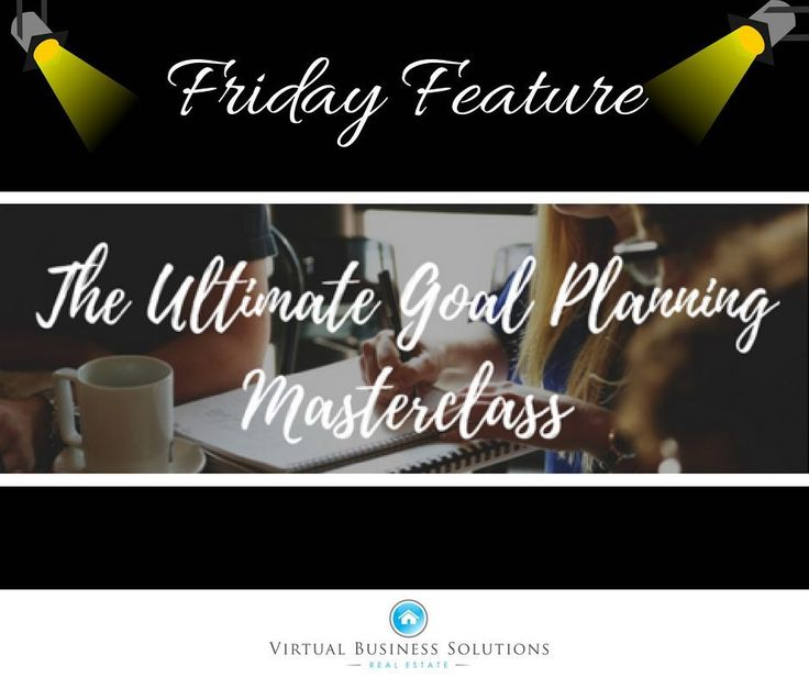 Friday Feature: The Ultimate Goal Planning Masterclass  Are you ready for goal planning that can change your life and business?  Join us for an interactive goal planning blueprint session that keeps you aligned with your highest and best self in life and in business!  FULLY INTERACTIVE CLASS: YOU WILL LEAVE WITH YOUR GOALS COMPLETED TO BEGIN YOUR 2018 YEAR! - Define Your Vision - Find Your True Why - Reverse Engineer Vision - Implement Goal System - Remove Obstacles - Incorporate Long Term…