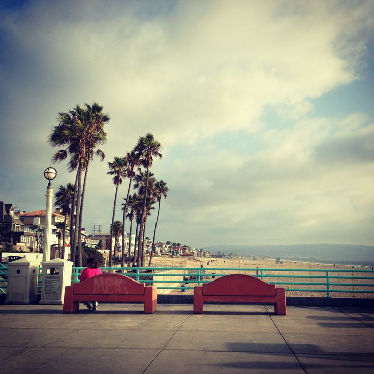 Manhattan Beach : my favorite place in L.A. <3