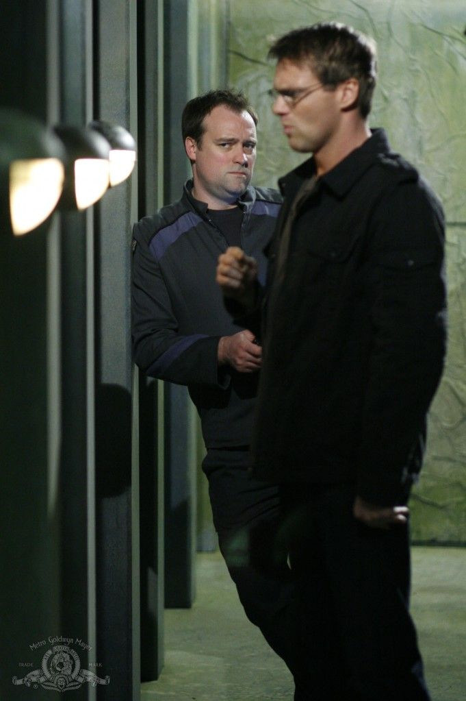 Daniel and Rodney, played by Michael Shanks and David Hewlitt
