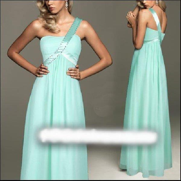 Бальное платье мятного цвета фото