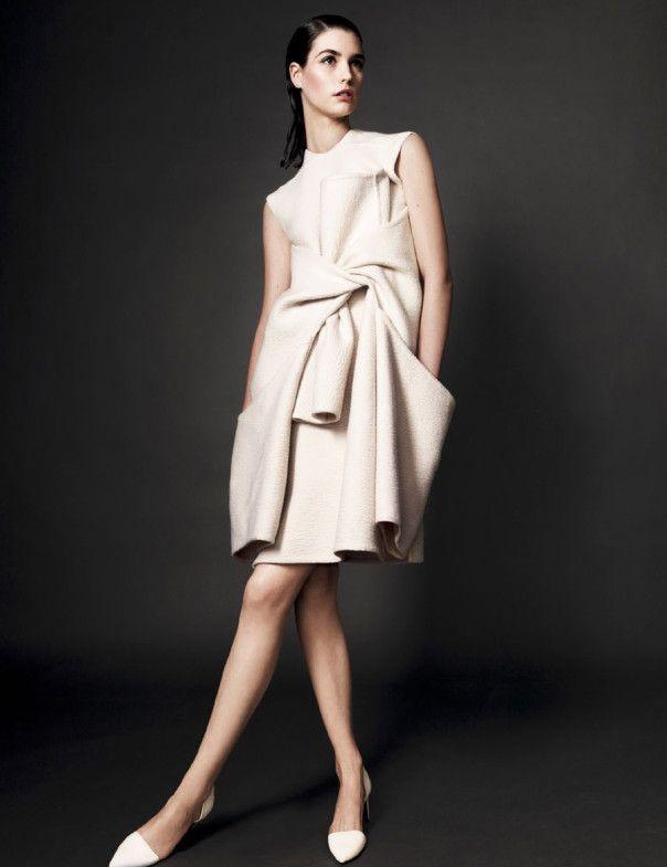 Manon Leloup by Jason Kibbler for Vogue Spain December 2013