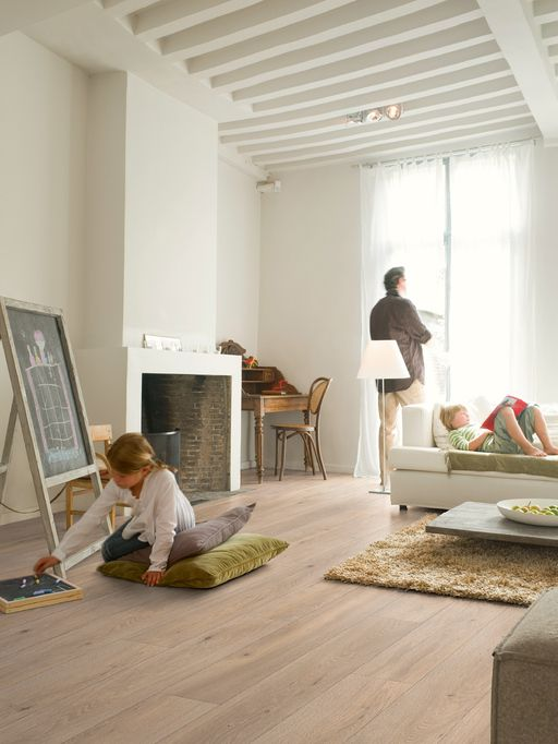 QuickStep LARGO Long Island Oak Natural Planks Laminate Flooring 9.5 mm, QuickStep Laminates - Wood Flooring Centre