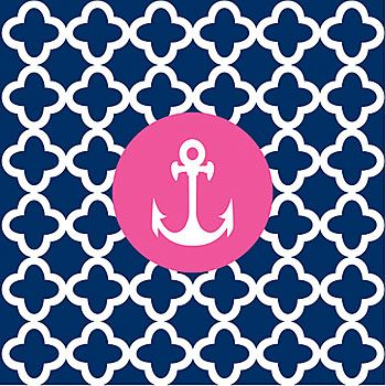 Anchor Chevron Wallpaper Anchor background! so cute! ⚓