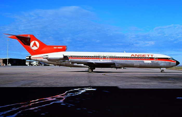 ANSETT Boeing 727-277  (VH RMV)