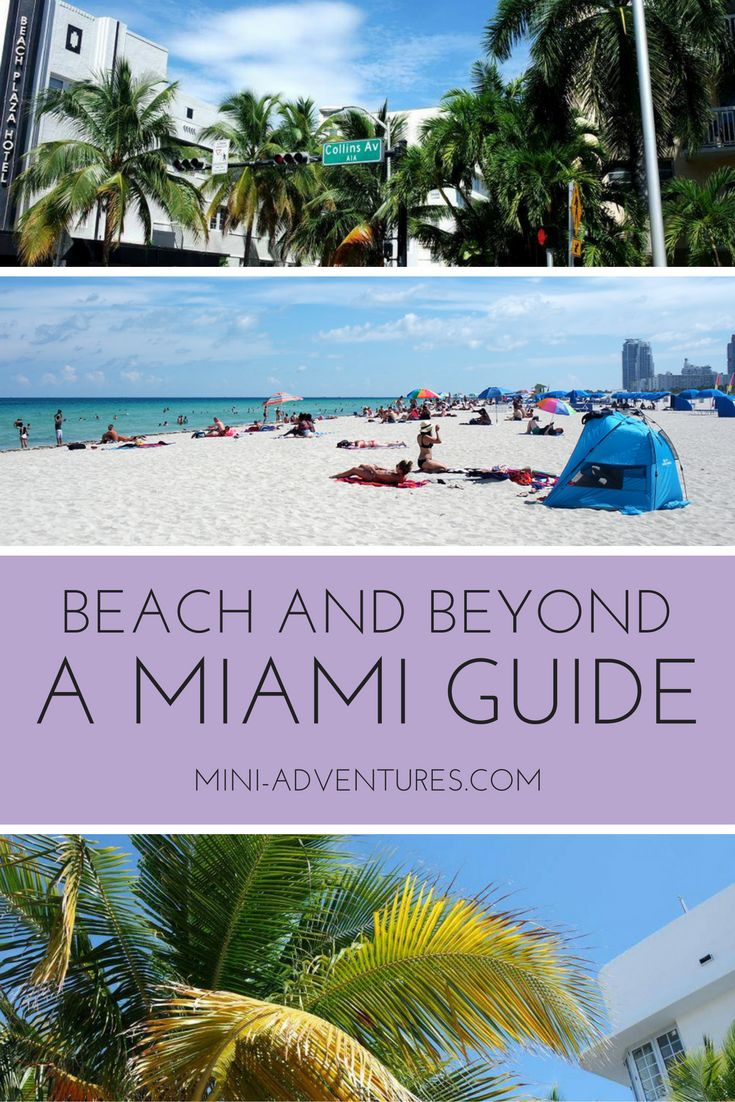 Is there more to Miami than beaches and beautiful people?