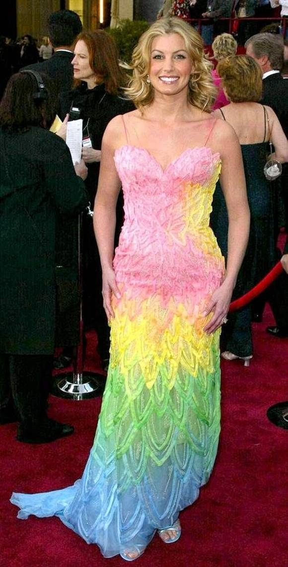 """Faith Hill, 2002 If you are going to perform at the Oscars song (""""Somewhere over the rainbow"""")"""