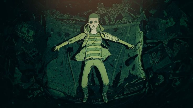 The Walk Home by Steve Cutts. A short film about one boys troubled journey across a hostile inner city and an unexpected discovery he makes.