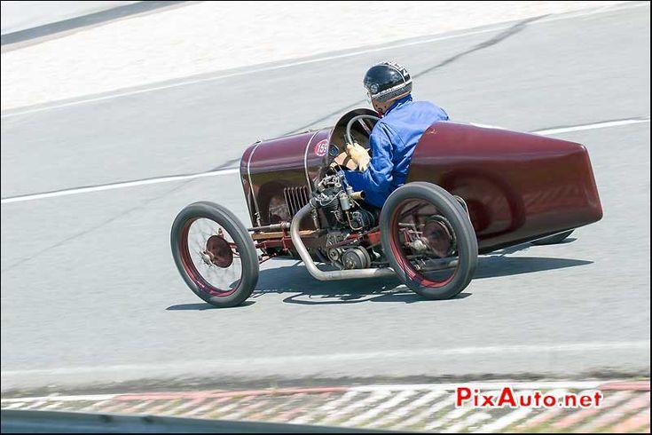 Vintage revival montlhery 2015 cyclecar schasche 500cc for Garage honda montlhery