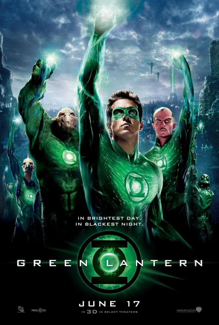 Green Lantern Movie Poster : Teaser Trailer