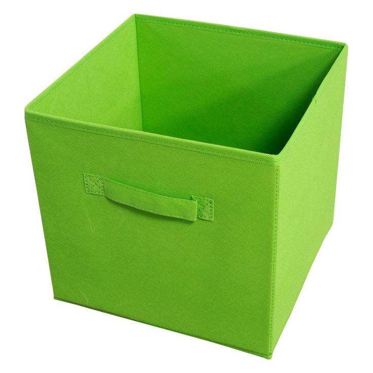 Achim Collapsible Storage Bin - Set of 4 Green - STRGBNGR04